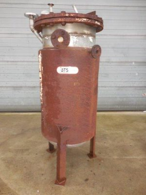 Used tank ss304 with jacket in carbon steel