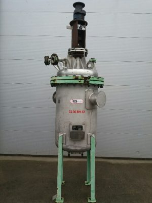 Tank 400 liters SS304 with agitator