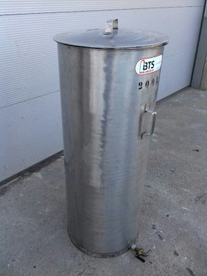 Used vertical SS304 tank
