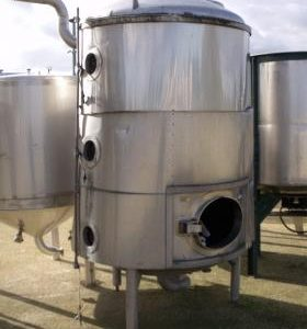 3,000 Litre, Stainless Steel, Vertical Base Tank