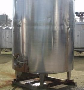 6,000 Litre, Stainless Steel, Vertical Base Tank