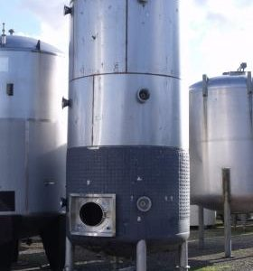 19,620 Litre, Stainless Steel, Vertical Base Tank