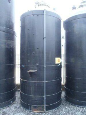 Polyester druk (2,5bar) tank in polyethyleen tank Vlakke bodem