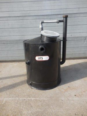 HDPE vertical tank