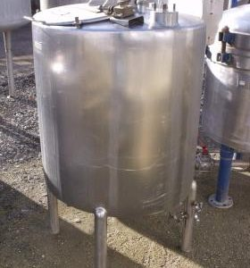 500 Litre, Stainless Steel, Vertical Base Tank