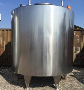 13,000 Litre, Stainless Steel, Vertical Base Tank