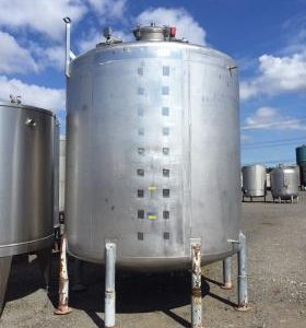 16,780 Litre, Mild Steel, Vertical Base Tank