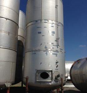 54,316 Litre, Mild Steel, Vertical Base Tank