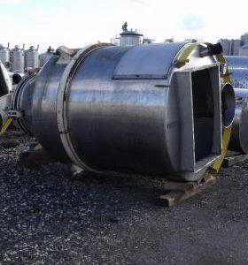 6,000 Litre, Mild Steel, Vertical Base Tank