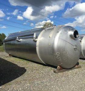 44,000 Litre, Mild Steel, Vertical Base Tank