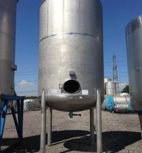 16,350 Litre, Stainless Steel, Vertical Base Tank