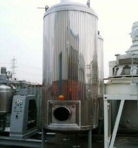 8,175 Litre, Mild Steel, Vertical Base Tank