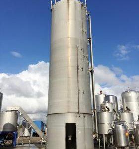 111,374 Litre, Mild Steel, Vertical Base Tank