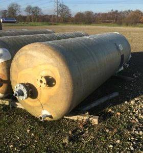 3,500 Litre, GRP, Vertical Base Tank