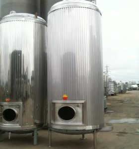 8,175 Litre, Stainless Steel, Vertical Base Tank