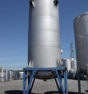 20,000 Litre, Stainless Steel, Vertical Base Tank