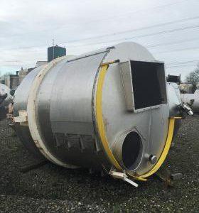 12,000 Litre, Mild Steel, Vertical Base Tank