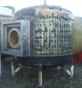 9,000 Litre, Mild Steel, Vertical Base Tank