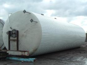 219,200 Litre, Mild Steel, Vertical Base Tank
