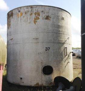 45,867 Litre, GRP, Vertical Base Tank