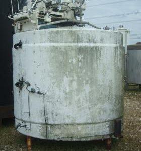 7,000 Litre, Mild Steel, Vertical Base Tank