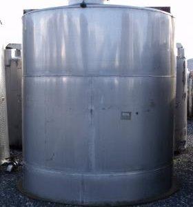 10,225 Litre, Mild Steel, Vertical Base Tank