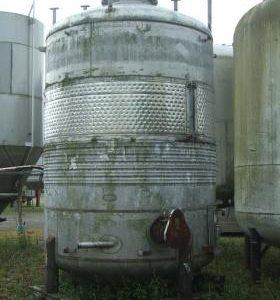 16,350 Litre, Mild Steel, Vertical Base Tank