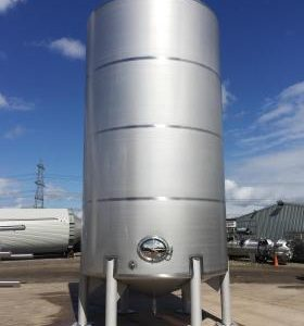 60,000 Litre, Stainless Steel, Vertical Base Tank