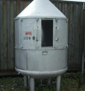 780 Litre, Stainless Steel, Vertical Base Tank