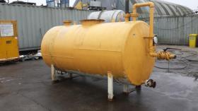 5,950 Litre, Mild Steel, Horizontal Base Tank