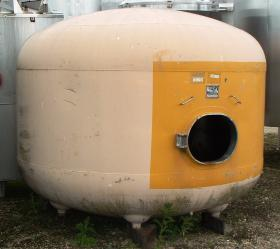 6,540 Litre, Stainless Steel, Vertical Base Tank