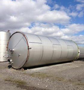 150,000 Litre, Mild Steel, Vertical Base Tank