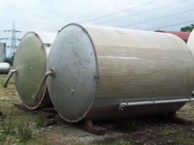 17,457 Litre, Mild Steel, Vertical Base Tank