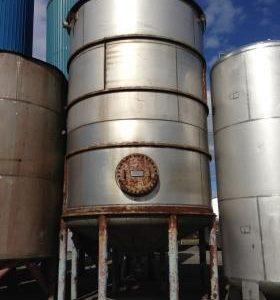 62,540 Litre, Mild Steel, Vertical Base Tank