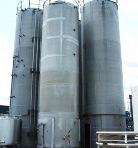 66,934 Litre, Mild Steel, Vertical Base Tank