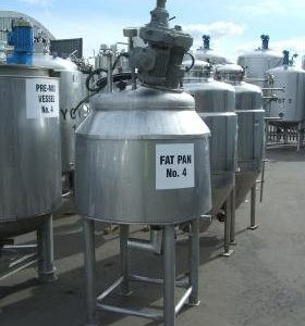 300 Litre, Stainless Steel, Vertical Base Tank