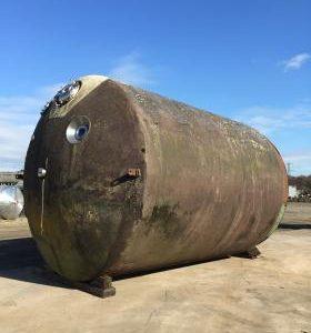 54,000 Litre, Mild Steel, Vertical Base Tank