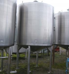 5,000 Litre, Stainless Steel, Other Base Tank