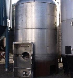 24,800 Litre, Mild Steel, Vertical Base Tank