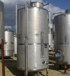 5,000 Litre, Mild Steel, Vertical Base Tank