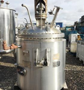 400 Litre, Stainless Steel, Vertical Base Tank