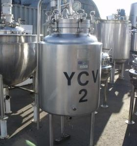 285 Litre, Stainless Steel, Vertical Base Tank