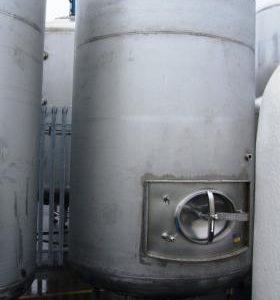 6,540 Litre, Mild Steel, Vertical Base Tank
