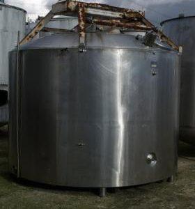 12,200 Litre, Mild Steel, Vertical Base Tank