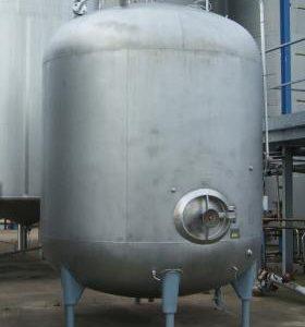 10,000 Litre, Mild Steel, Vertical Base Tank