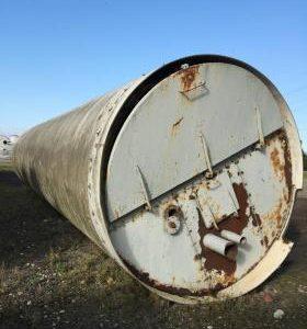 74,080 Litre, Mild Steel, Vertical Base Tank