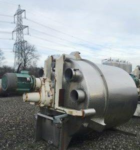 5,800 Litre, Mild Steel, Vertical Base Tank