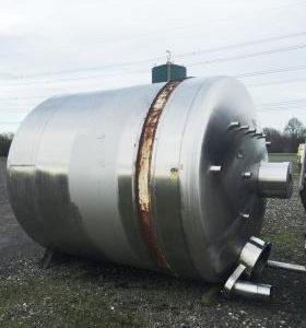 11,200 Litre, Mild Steel, Vertical Base Tank