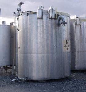 10,700 Litre, Mild Steel, Vertical Base Tank