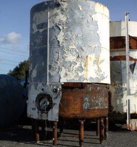 25,600 Litre, Mild Steel, Vertical Base Tank
